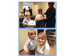 charity haircut for Blue Skye Thinking and Little Princess Trust