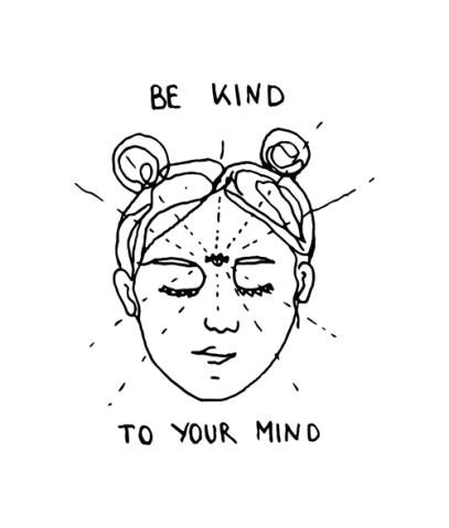 Be-Kind-To-Your-Mind-T-Shirt-display